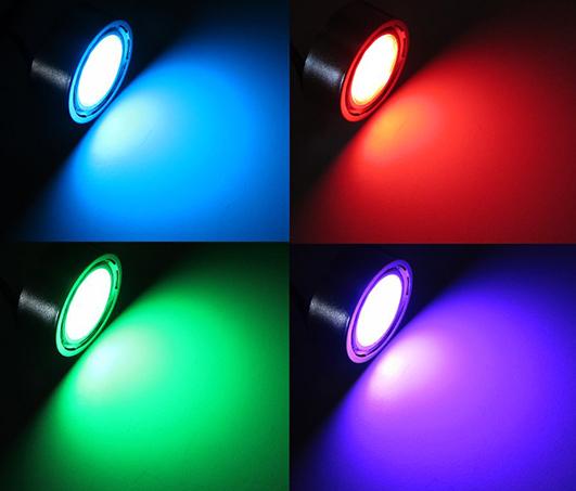 RGB LED Step Lights