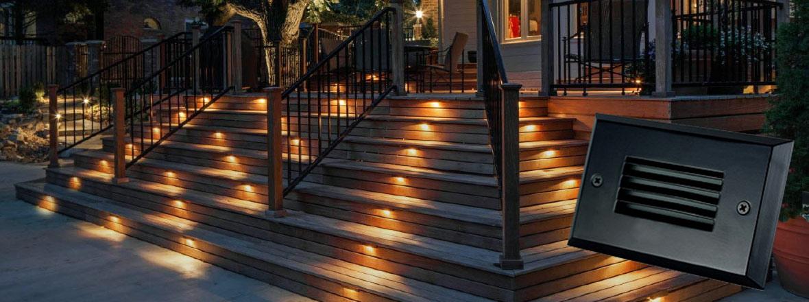 Junction Box Step Lights