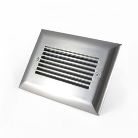 Louvered Large LED Step Light